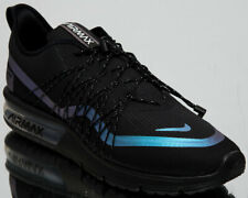 sports shoes 80df6 c9459 Nike Air Max Sequent 4 Utility Men s New Black Blue Running Shoes AV3236-005