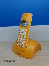 Telefono Cordless JUPITER Giallo con Display Telecom Nuovo