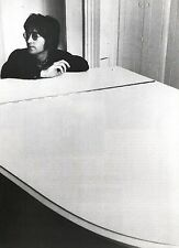 JOHN LENNON (Beatles) at the white grand magazine PHOTO / Poster 11x8 inches