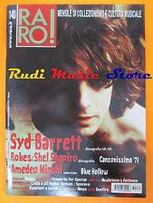 rivista RARO 140/2003 Syd Barrett Amedero Minghi Shel Shapiro Rokes Focus * Nocd