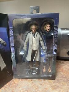 NECA Doc Brown 7 inch Action Figure - H856040 New Ultimate Deluxe