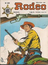 RODEO N°430 JUIN 1987