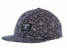 DC Shoes Beatbomb Camper Mens Navy Paisley Adjustable Snapback Hat Cap New NWT