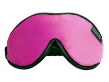 Dream Essentials Escape Luxury Travel Sleep Mask Carry Pouch Earplugs- Hot Pink