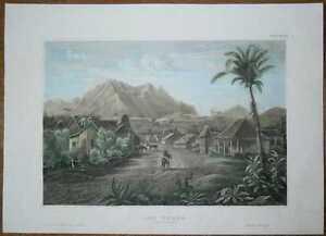 1857 Meyer print LAS POZAS, PINAR DEL RIO, CUBA (#17)