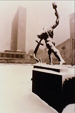 518061 Sculpture Let Us Beat Swords Into Ploughshares USSR Gift A4 Photo Print