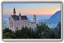 FRIDGE MAGNET - NEUSCHWANSTEIN CASTLE - Large Jumbo - Bavaria Germany