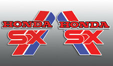 HONDA 1987 '87 ATC250SX ATC 200SX REPRODUCTION TANK DECALS GRAPHICS