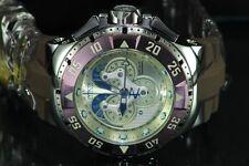 New Invicta Reserve Excursion Master Calendar 5040F Quartz Brown Strap Watch