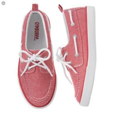 New Gymboree Sunset Orange Boat Shoes Sz 6
