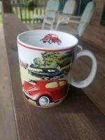 Cool VOLKSWAGEN BUG Ceramic Coffee Cup  Mug Vintage Classic Cars Konitz Germany