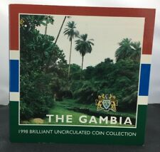 Lovely Rare The Gambia 1998 Brilliant Uncirculated Coin Collection RDL736
