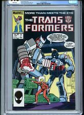 Transformers #7 CGC 9.6 White Pages 1985
