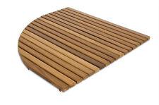 Alfombrilla 69x69 antideslizante redondeada-Tarima para ducha en madera de Iroko