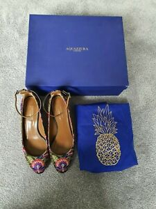 Aquazzura embroidery size 36 pumps