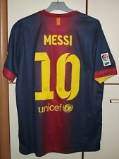 FC Barcelona 2012-2013 Home football shirt jersey Nike size L #10 Messi