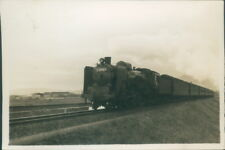 Photograph Japan 1954 Steam Train Tokyo Express 3,25 x 2.25 inches