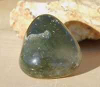 Smoky Quartz Crystal LODOLITE With Green Chlorite & Black Tourmaline