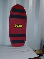 The Spooner Freestyle Curved Board - Red