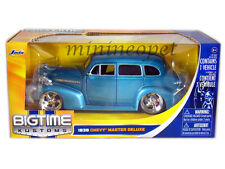 JADA 90376 1939 39 CHEVY MASTER DELUXE 1/24 DIECAST MODEL CAR BLUE