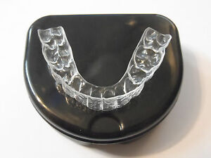 *1*Premium Essix Plus Custom, Clear Dental Teeth Retainer *Upper OR Lower+Case