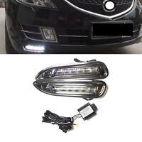 DRL LED Daytime Running Lamp Light Set For Mazda 6 Atenza 2010 2011 2012 2013