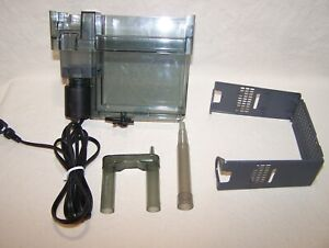 AquaClear Aqua-Clear 50 Power Filter tested working condition no lid or media