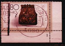"BRD MiNr 1336 Eckrand rechts unten R 5 FN 1 ""Wohlfahrt 1987"": Goldschmiedekunst"