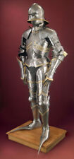 Antique German Gothic Full Body Suit Of Armor 15th Century Larp Armory Suit