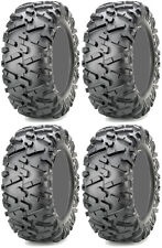 Four 4 Maxxis Bighorn 2.0 ATV Tires Set 2 Front 26x9-12 & 2 Rear 26x11-12