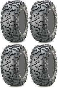 Four 4 Maxxis Bighorn 2.0 ATV Tires Set 2 Front 26x9-12 & 2 Rear 26x11-12