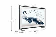 Samsung  GQ32LS03TBKXZG The Frame 81 cm (32 Zoll) Qled-Tv, Smart TV,  Schwarz