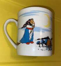 Vintage Takahashi Kitchen Witch Coffee Mug