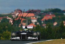 Bruno Senna Hand Signed 12x8 Photo Williams F1 9.