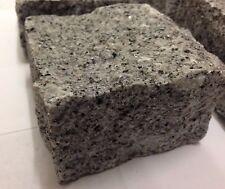 Silver Grey Granite Setts/Cobbles- Natural Stone- 100mm x 100mm x 50mm