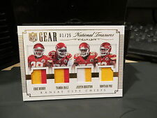 National Treasures NFL Gear Chiefs Eric Berry Tamba Hali Poe Houston 01/25  2015
