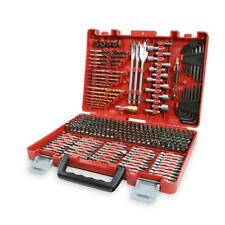 Brand New CRAFTSMAN 300-Piece Drill Drive Bit Set Accessory Kit in HARD CASE