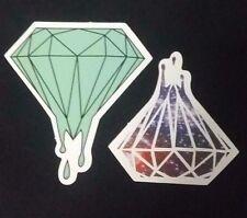"2 Pack 3"" Diamond Galaxy Emblem Sticker Waterproof VOLCOM"