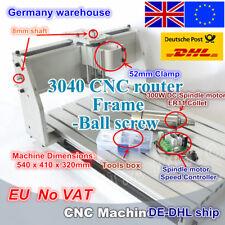 【EU Stock】3040 Ball Screw Frame CNC Router Engraving Machine Kit+300W DC Spindle