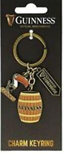 Guinness Portachiavi Tucano, Barile & da Magazzino Firmare Ciondoli (5640)
