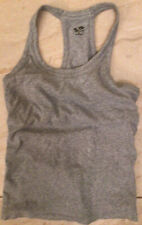 champion size large womens gray Ribbed workout top