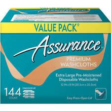 Assurance Premium Washcloths XL 144 Ct