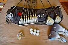 Ladies  Golf Clubs FULL GRAPHITE SET + Bag, Balls, etc.( Right-Handed,)