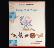Bernina Embroidery Card #771 Things With Wings Birds for Artista 165 170 180 200