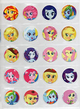 MY LITTLE PONY Tazos Pogs Toys Collection Complete set Figures Hasbro + STICKERS