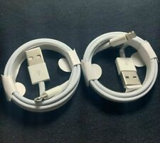 2 pack OEM Original Apple USB Cable 3FT charger For iPhone 7 8 Plus X XR XS Max