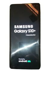 Samsung Galaxy S10+ SM-G975U - 128GB - Prism White (Sprint) (Single SIM)