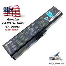 Genuine OEM New PA3817U-1BRS Battery for Toshiba Satellite L735 L655 C665 48Wh