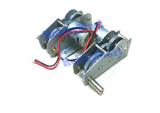 HENG LONG 3818-081 Metal Gear Drive System Gear Box for 1/16 RC Tank x 1 PAIR
