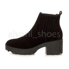 Scarpe da donna stivali alla caviglia in sintetico con da infilare